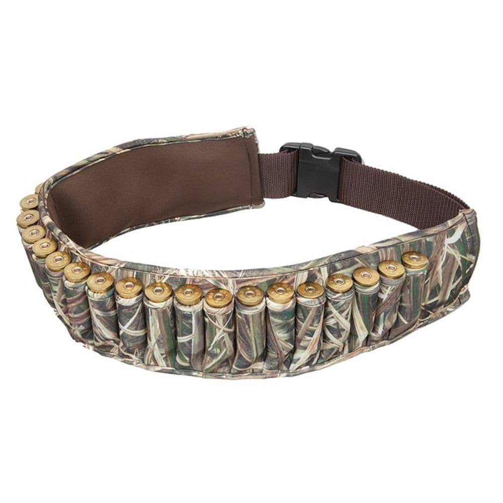 Allen Neoprene Shotgun Cartridge Belt Mossy Oak Camo Duck Geese #2528