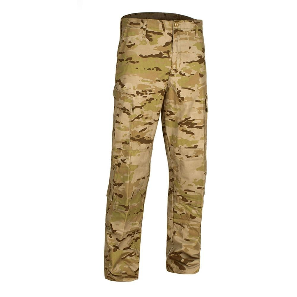 Alpha Airsoft Army Style BDU Tactical Trousers Desert Camo