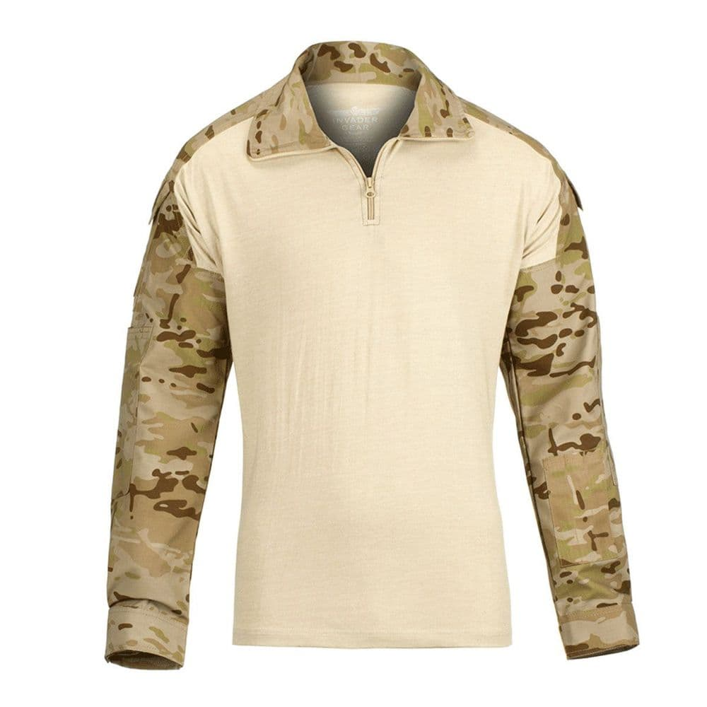 Alpha Airsoft Army Style Tactical UBACS Shirt Desert Camo