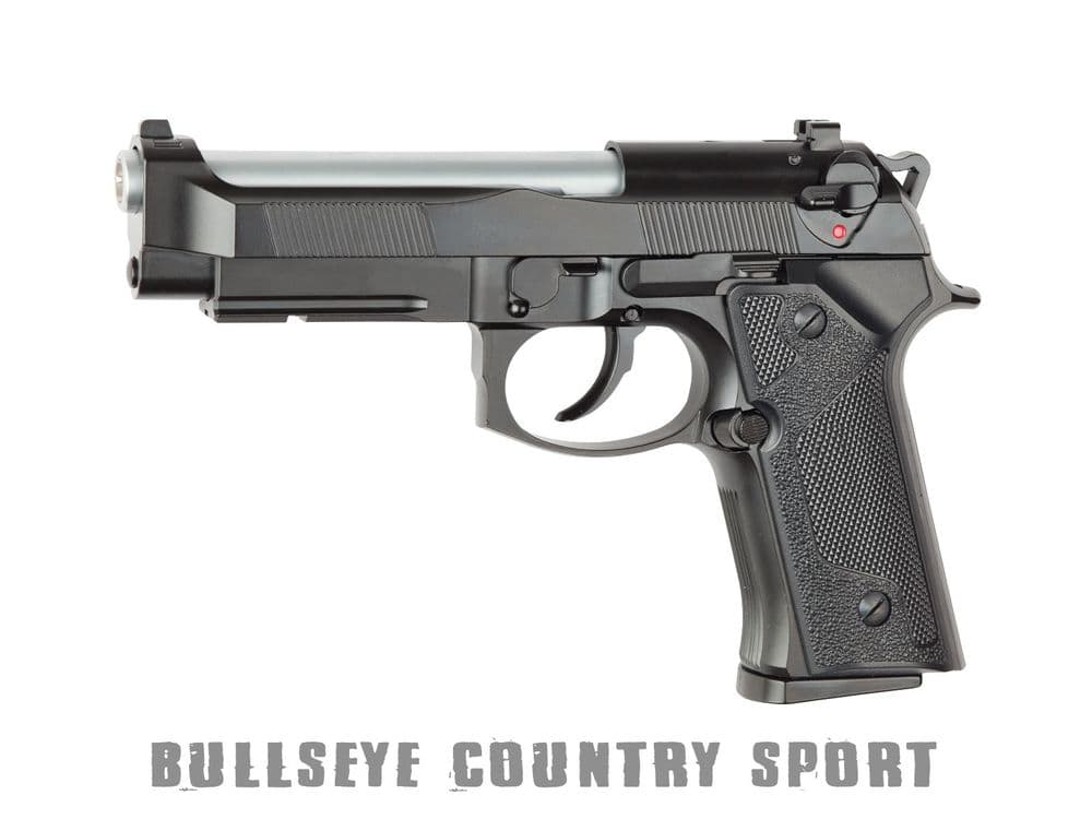 ASG M9 Tactical Version Airsoft Pistol Full Metal Heavy Weight GBB Pistol