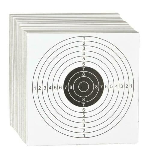 ASG Shooting Targets Paper 14x14cms
