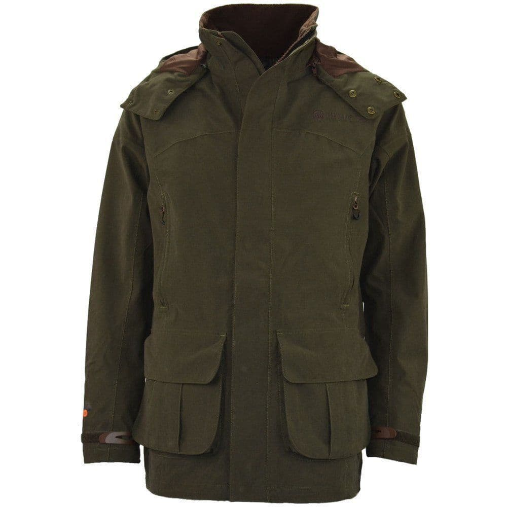 Beretta Brown Bear Super Light Teal Shooting Jacket Green