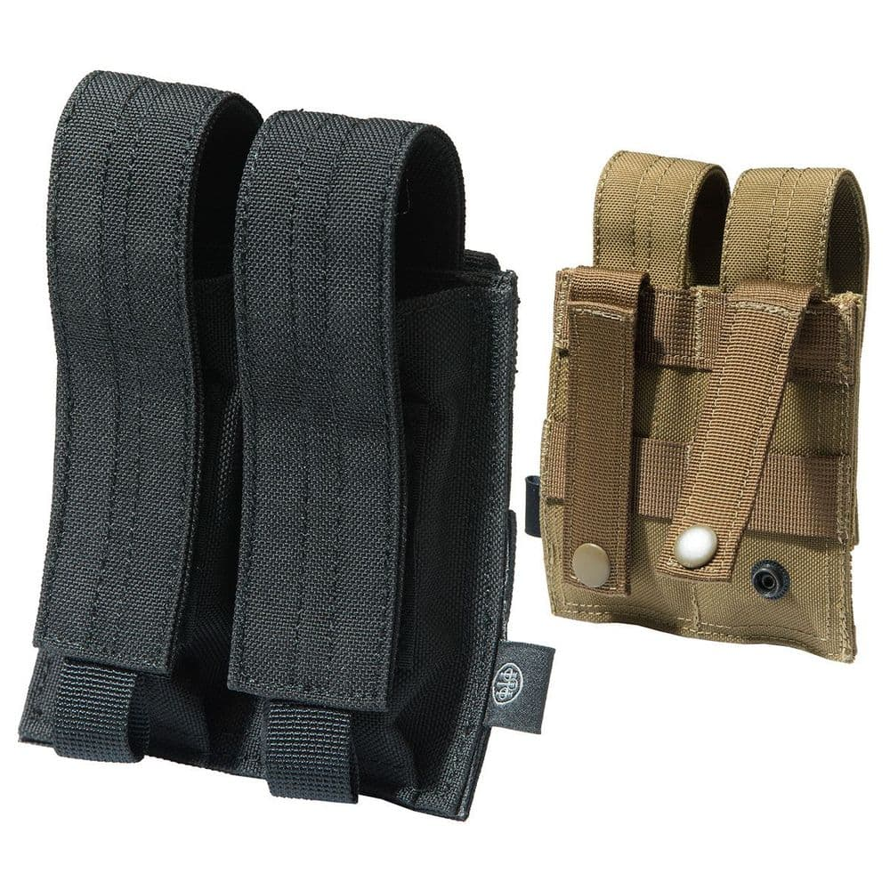 Beretta Grip-Tac Double Pistol Magazine Pouch Molle Security Airsoft #CA151