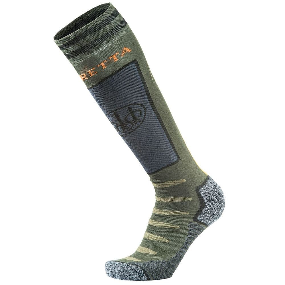 Beretta Long Primaloft Insulated Reinforced Boot Socks Green #CL041T
