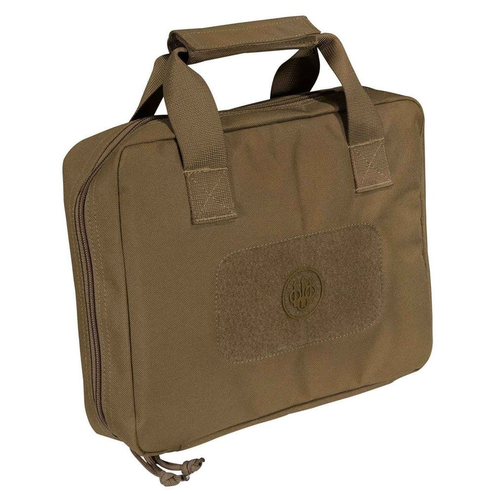 Beretta Pistol Carry Case Padded Coyote Airsoft Range 1911 M9 P226 FO471