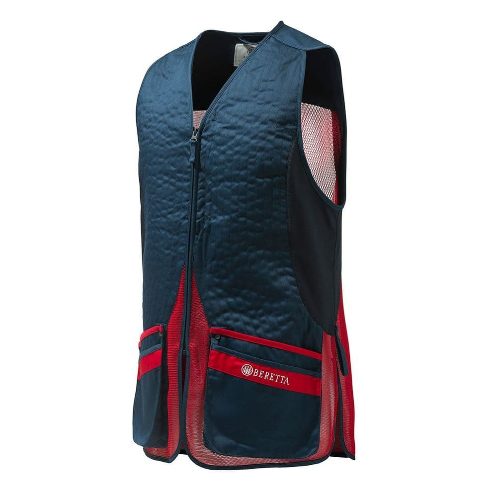 Beretta Silver Pigeon Evo Vest Shooting Skeet Blue Eclipse / Red #GT781