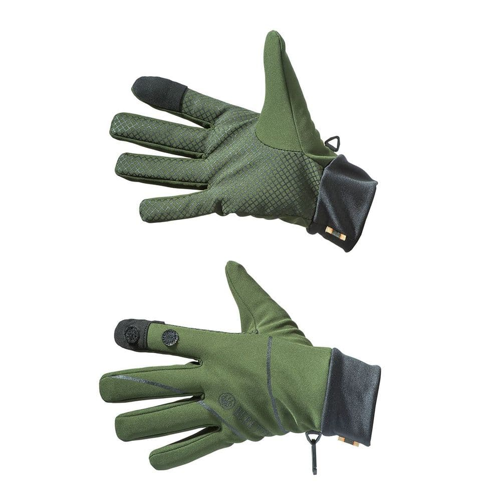 Beretta Softshell Shooting Gloves Green GL271T