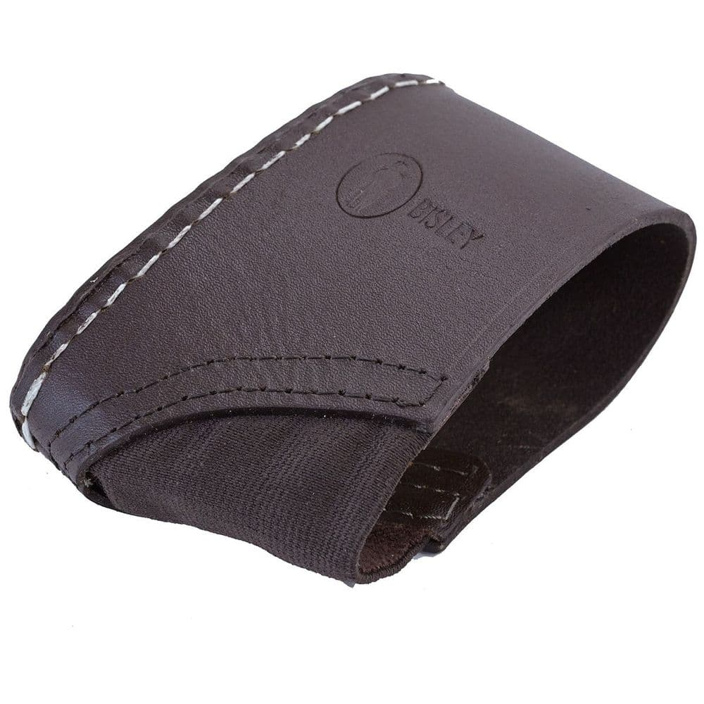 Bisley Brown Leather Slip-On Recoil Absorbing Pad #RELS