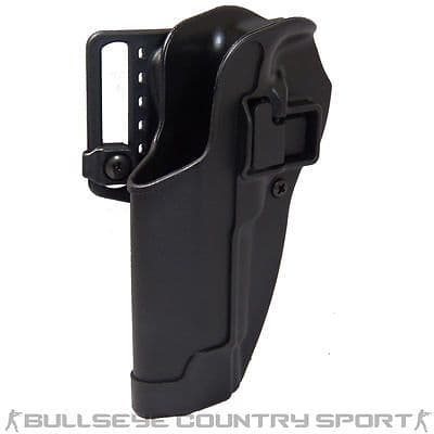 BLACKHAWK M92 LEFT HAND HOLSTER BLACK CQC SEPRA