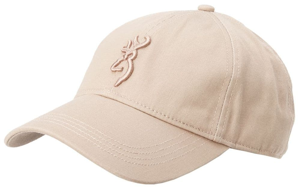 Browning Baseball Hat Cap Coyote Brown Logo Cotton Adjustable #308000681