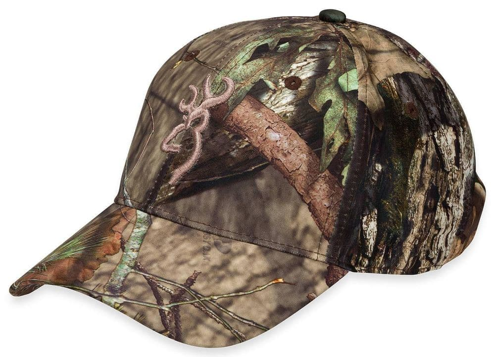 Browning Baseball Hat Cap Trail-Lite Mossy Oak Camo Hunt Shoot Fish 308150281