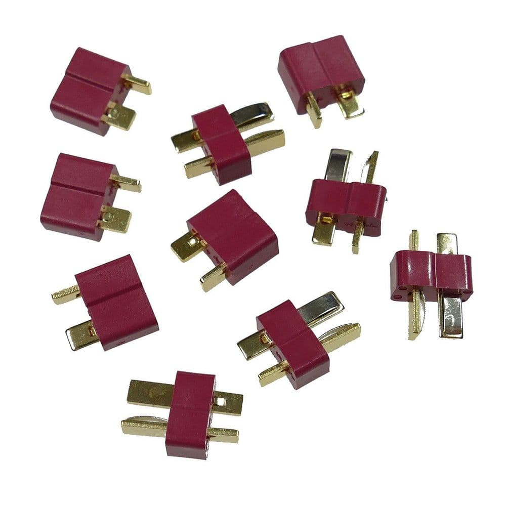 Cobra Airsoft Battery 5 Pack Deans Connector T-Plugs