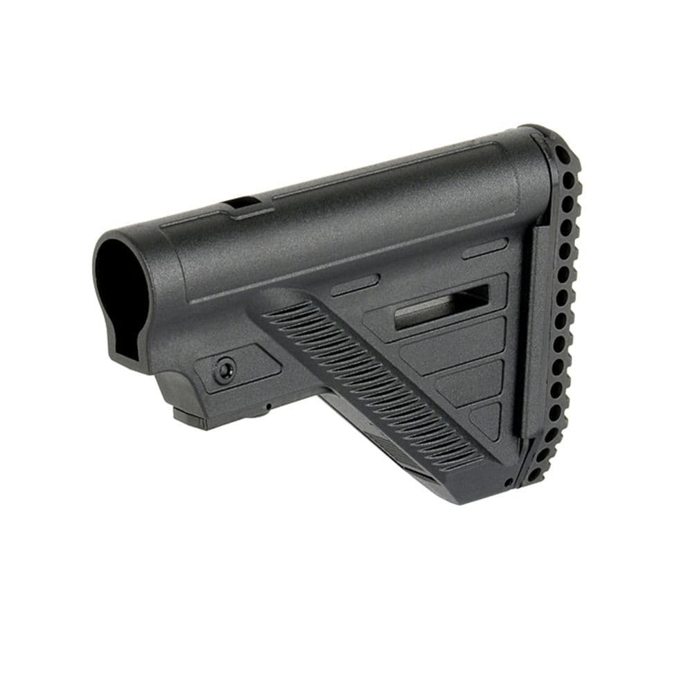 Cobra Slim Compact Light Weight Airsoft AEG Stock Black #STK-006