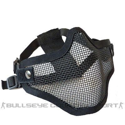 COBRA V1 HALF MESH FACE MASK BLACK