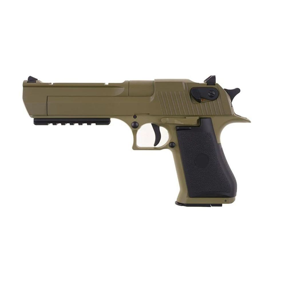 Cyma Airsoft AEP Electric Pistol Desert Eagle .50 Tan CM.121