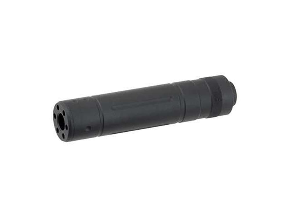 Cyma Airsoft Black Mock Suppressor 145mm x 30mm 14mm CCW