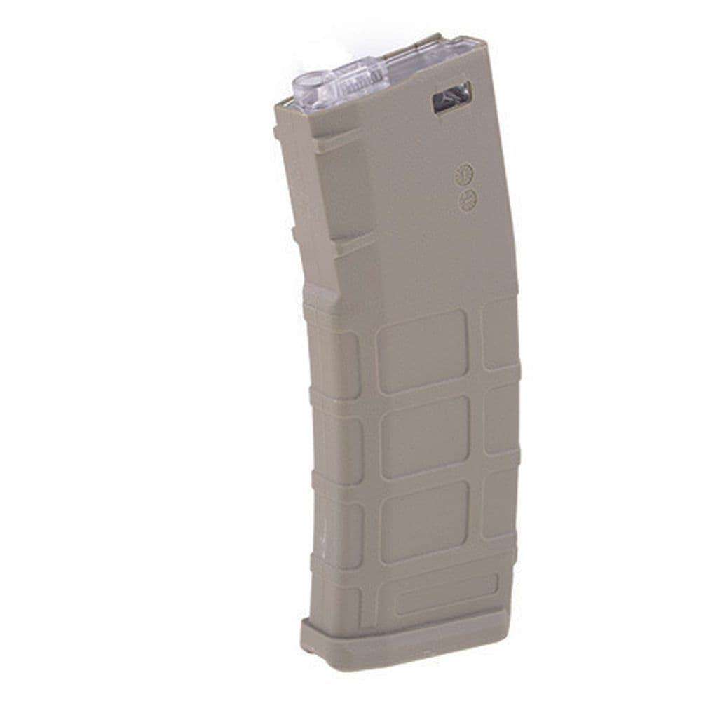 Cyma Airsoft Magazine Mid-Cap 150rd M-Series FDE Dark Earth M127A 6mm bb's