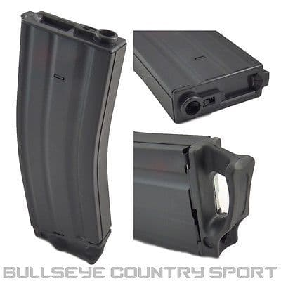 DBOYS AIRSOFT MAGAZINE WITH PULLER M4 300RD SPEED BLACK 6MM M16