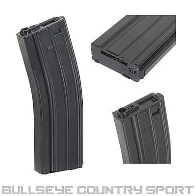 DBOYS MAGAZINE M4 500 RD BLACK M16 HI-CAP METAL MAG
