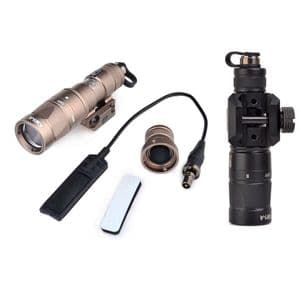 Element M300 KM1-A LED Scout Flash Light Torch Airsoft Pressure Swith Strobe #EX385