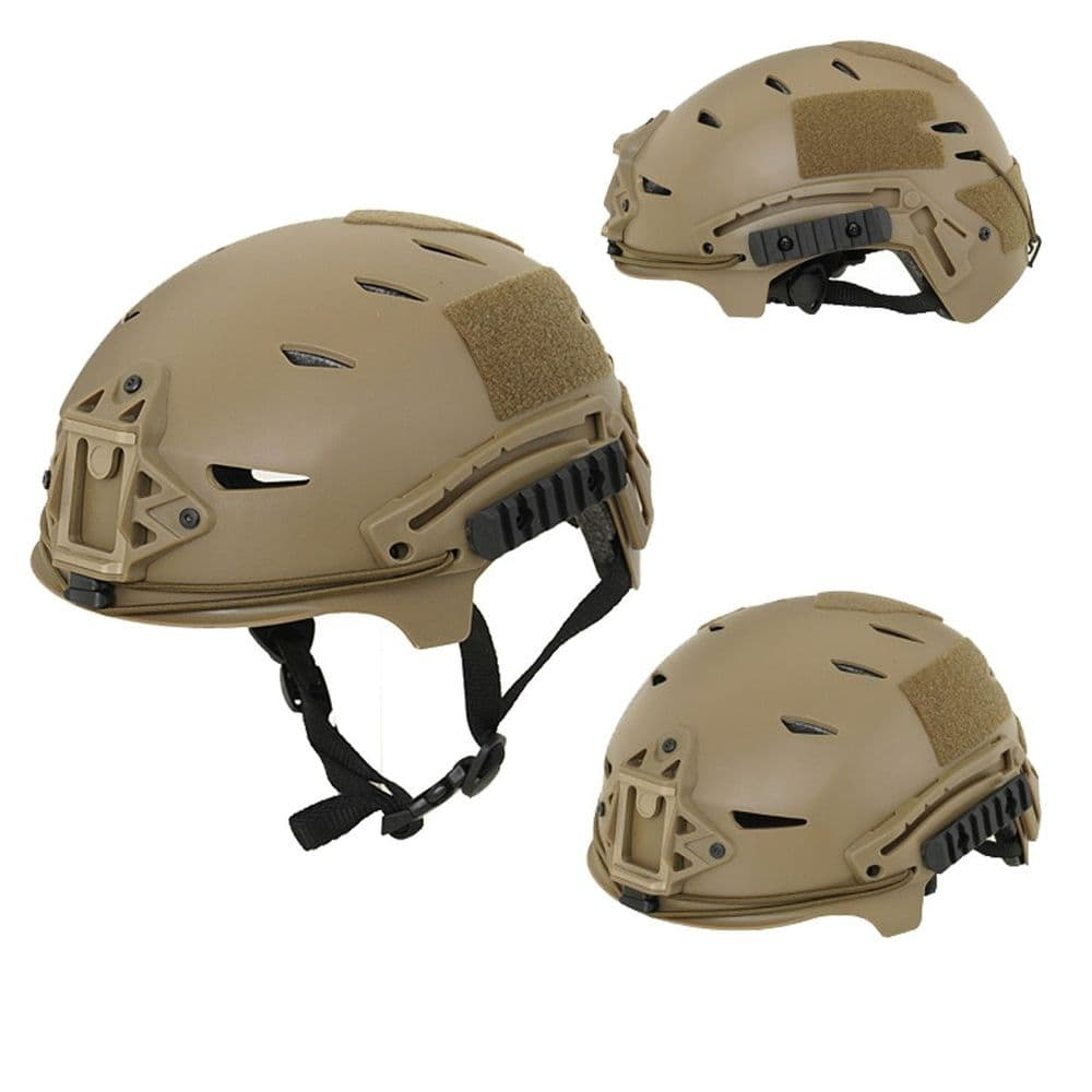Emerson Airsoft EXF Helmet Jump Style Coyote