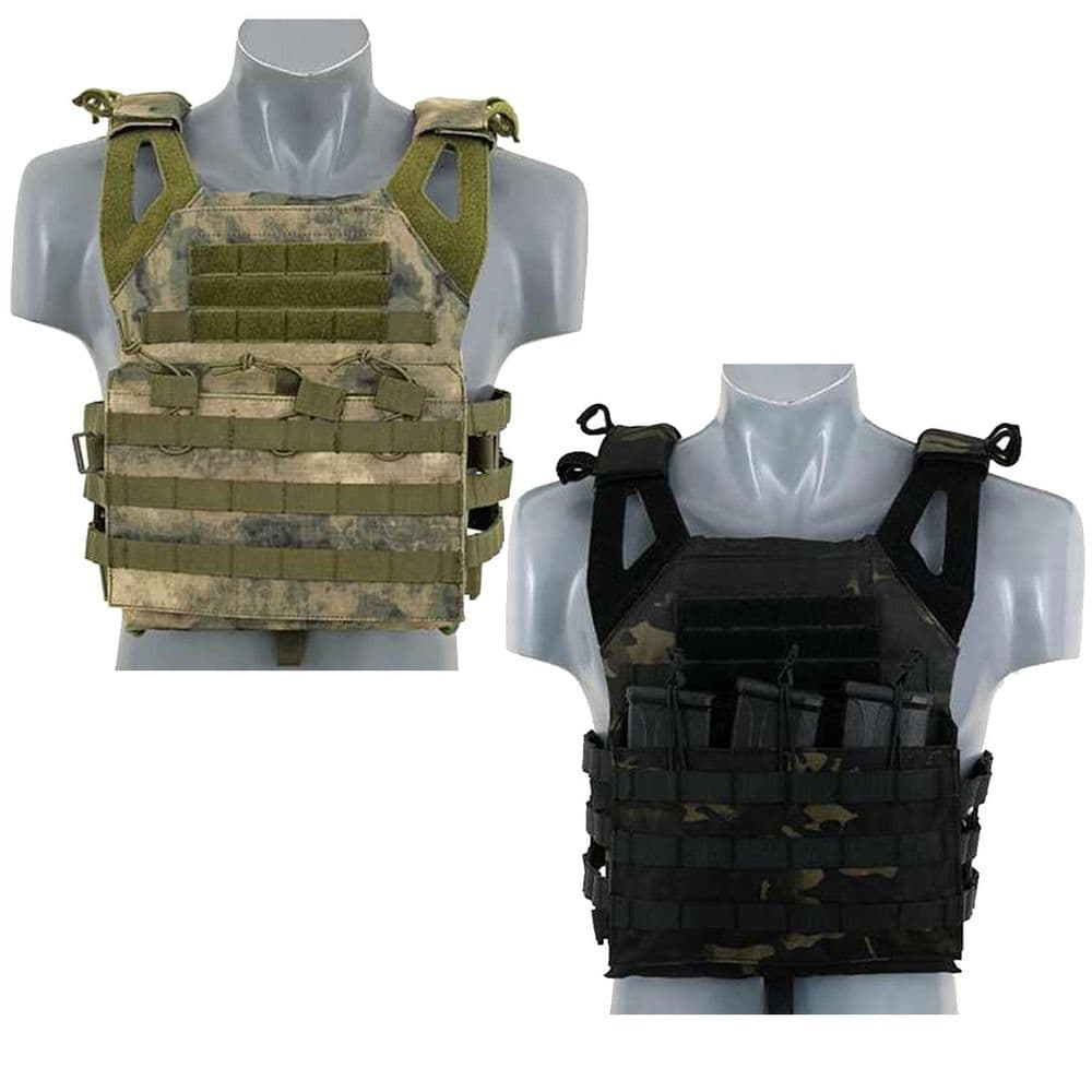 Fields Airsoft Molle Jump Style Lightweight Vest Plate Carrier