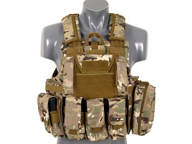 Fields Tactical Combat Vest Fully Loaded CP ATP