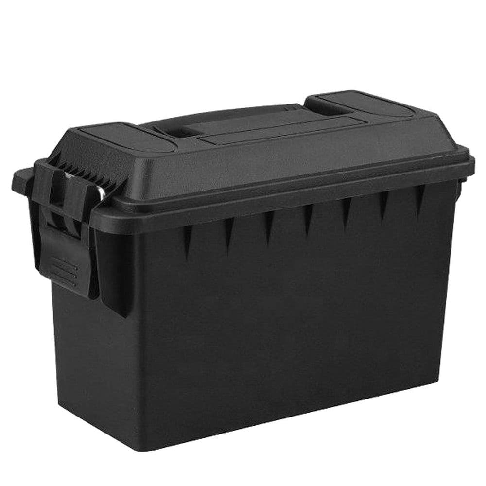 FOT Polymer Ammo Carry Case Box Cal. 30 Black 28x38x18 Cm Range Trap #952
