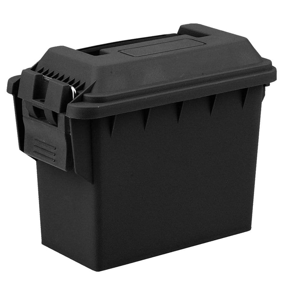 FOT Small Polymer Ammo Box Carry Case Black 20x15x10cm Range Airsoft Shoot #951