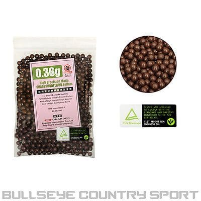 GUARDER AIRSOFT PRECISION 0.36 G BB'S 1000 RD BAG SNIPER HEAVY
