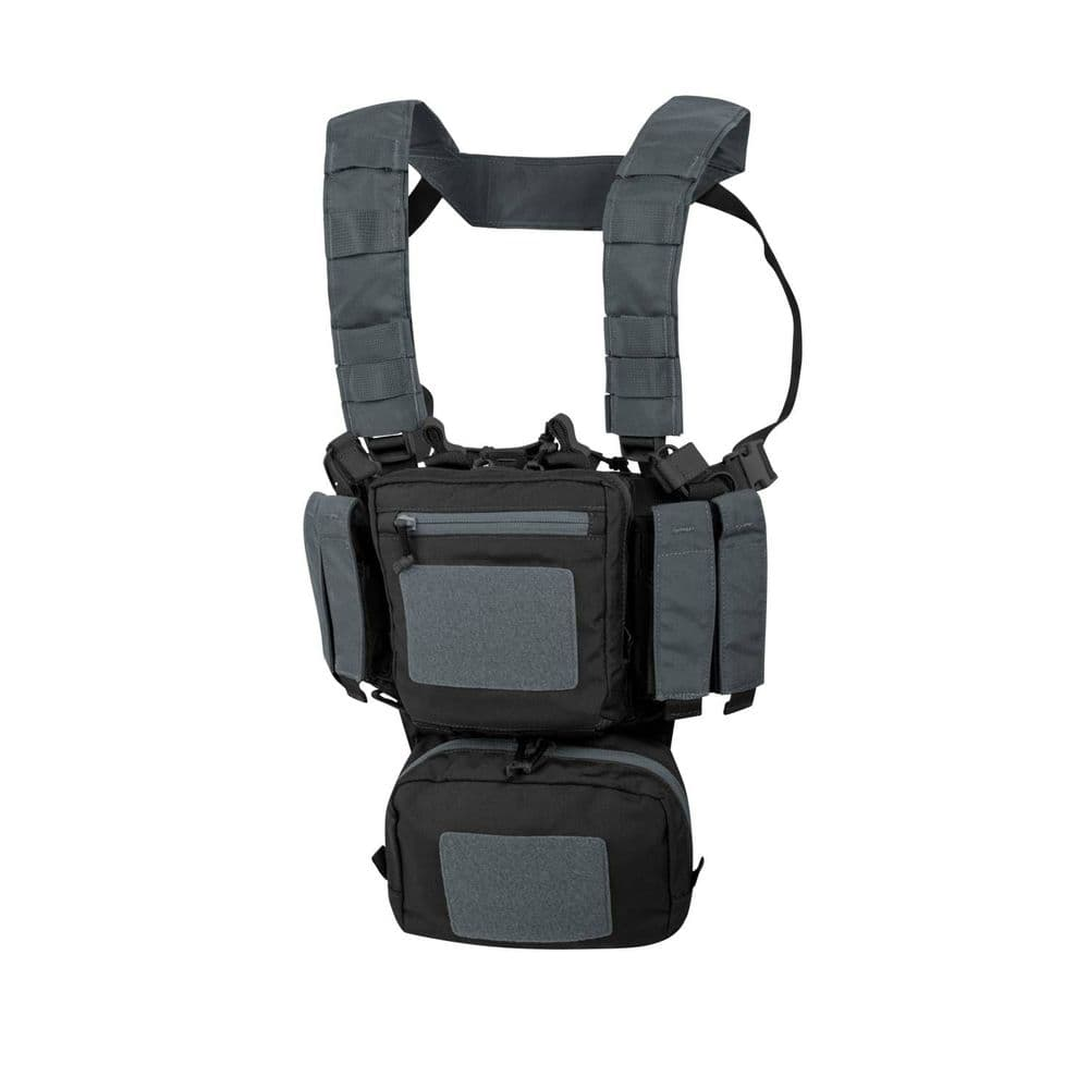 Helikon Training Mini Rig TMR Chest Harness Black / Grey CD-0135A Airsoft Vest