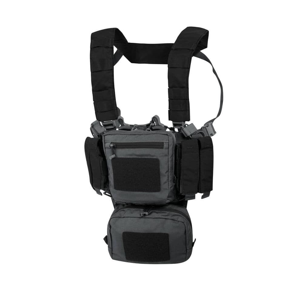 Helikon Training Mini Rig TMR Chest Harness Vest Grey / Black CD-3501A Airsoft