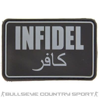 Infidel PVC Velcro Backed Moral Patch