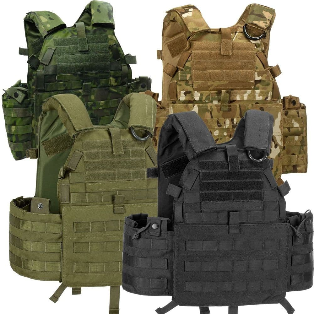 Invader Gear Airsoft 6094A-RS Molle Plate Carrier Assault Vest Softair