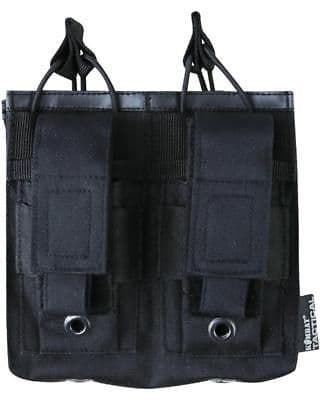 Kombat Double Alpha Mag And Pistol Pouch 2 x Rifle 2 X Pistol Molle