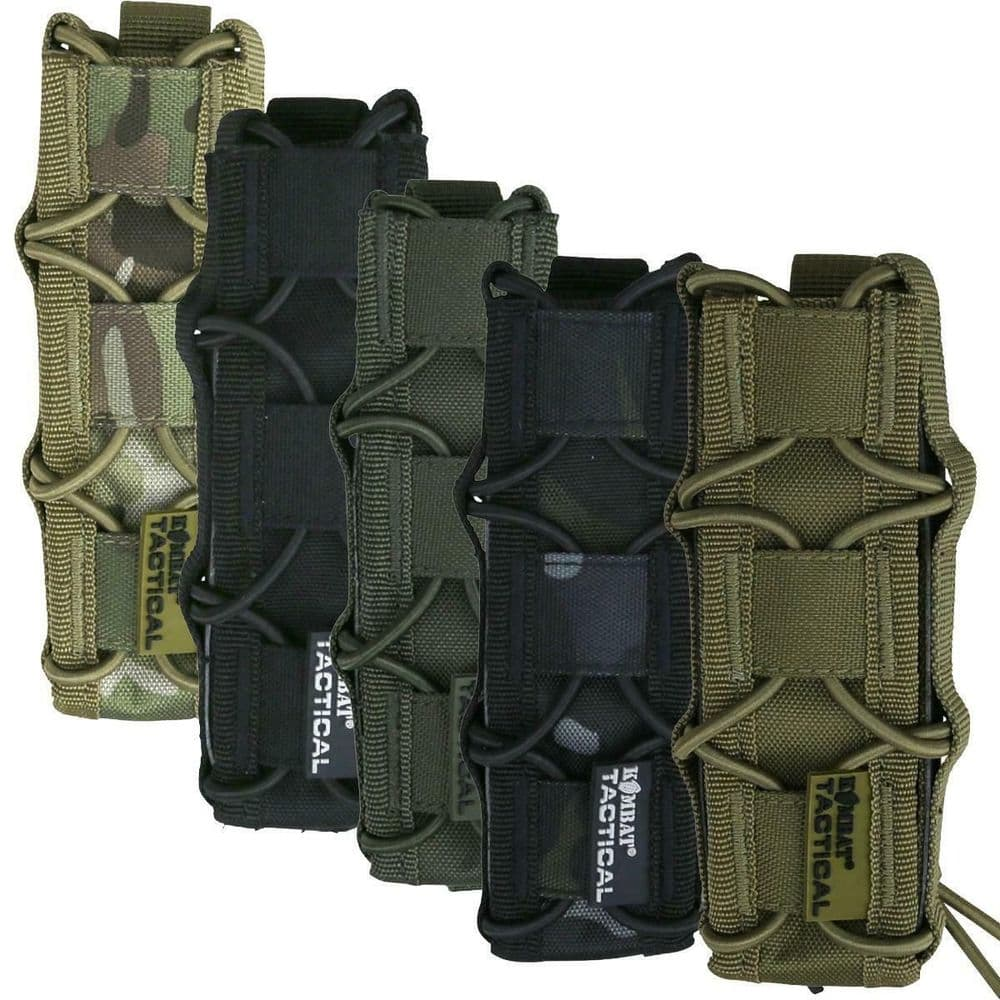 Kombat Extended Pistol Magazine SMG Molle Pouch