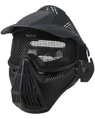 Kombat Full Face Poly Mesh Mask