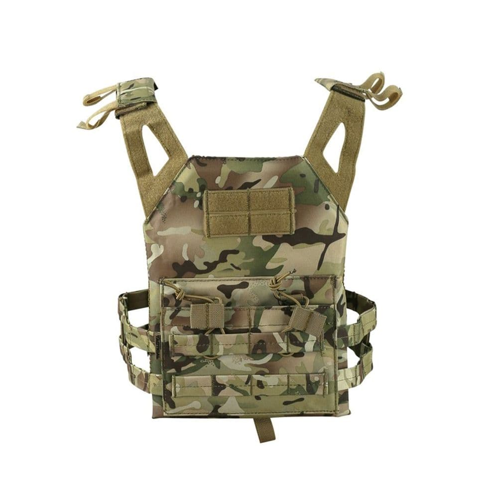 Kombat Kids Army Style JPC Jump Plate Carrier Vest BTP Camo Airsoft Pouch