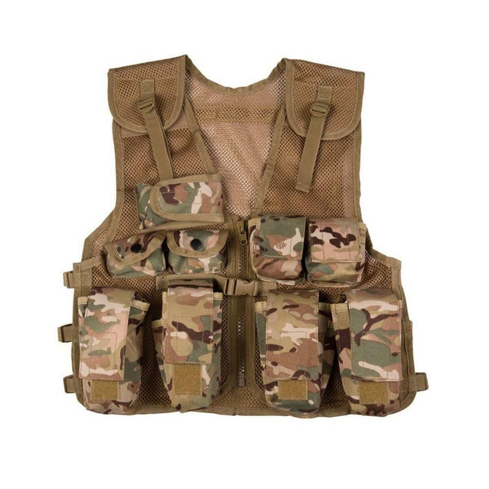 Kombat Kids Assault Vest BTP Camo