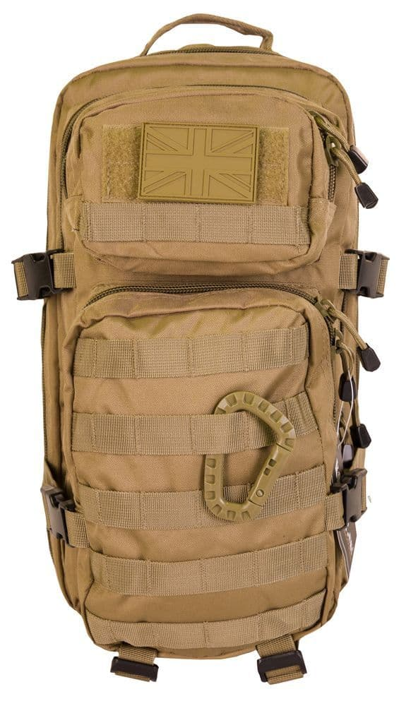 Kombat Small Assault Day Pack 28 Ltr Coyote