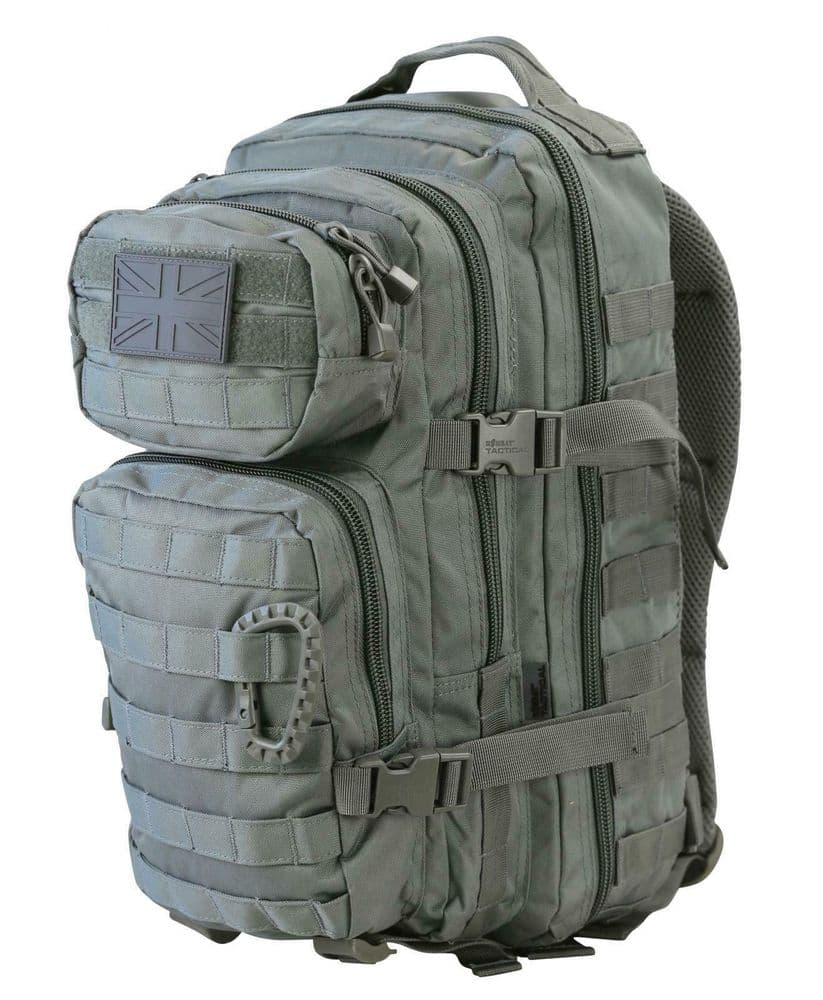Kombat Small Assault Day Pack 28 Ltr Shadow Grey