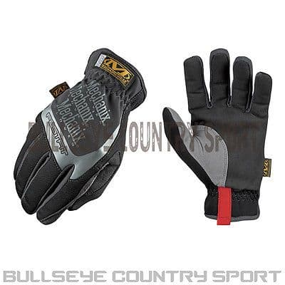 MECHANIX WEAR FAST FIT GLOVES BLACK MFF-05-009 TREK-DRY MULTI PURPOSE