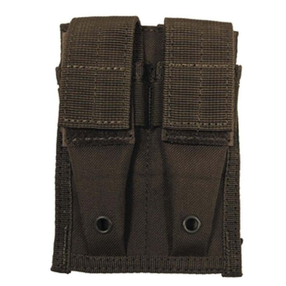 Mfh Double Pistol Magazine Pouch Green