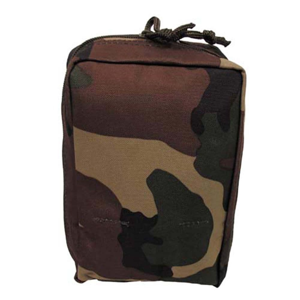 Mfh Small Molle Utility Pouch Woodland