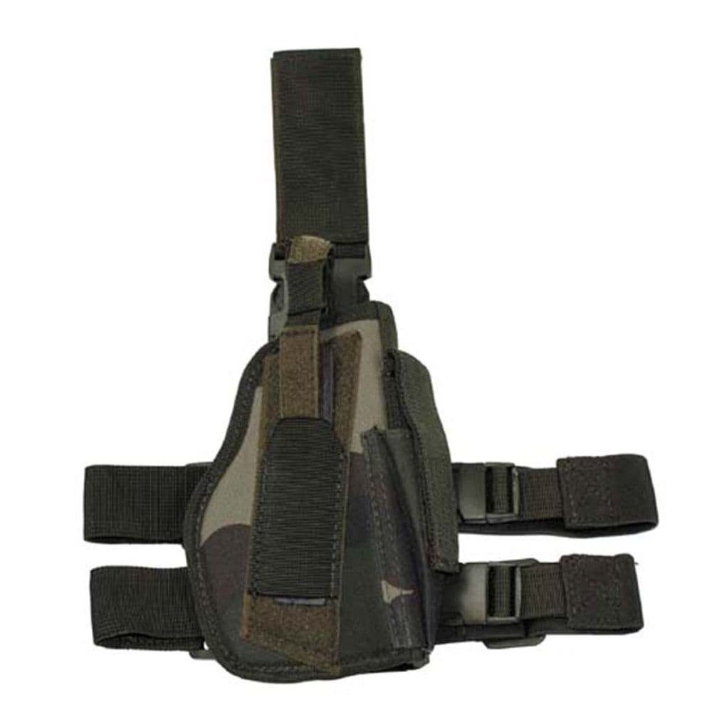 MFH Tactical Drop Leg Holster French CCE Camo