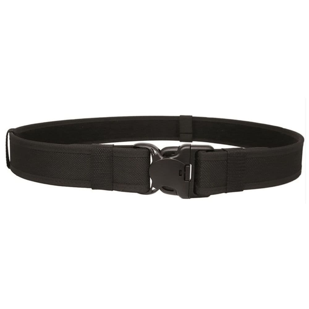 Mil-Tec Duty Security Belt Black 50mm Double Locking