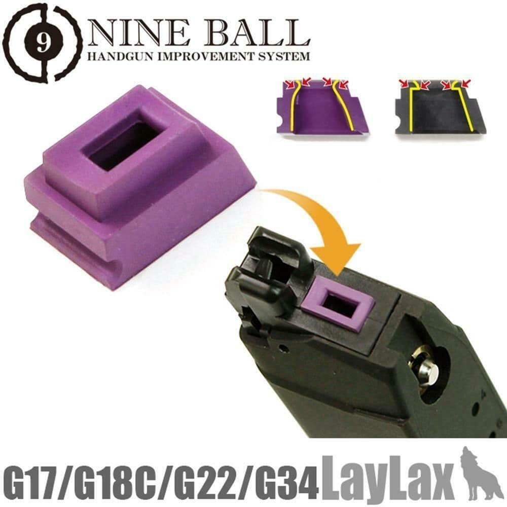 Nineball Airsoft Magazine Gas Router Seal Packing G Series Green bb's