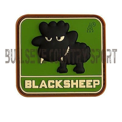 PVC LITTLE BLACK SHEEP PATCH MULTICAM MORAL PATCH