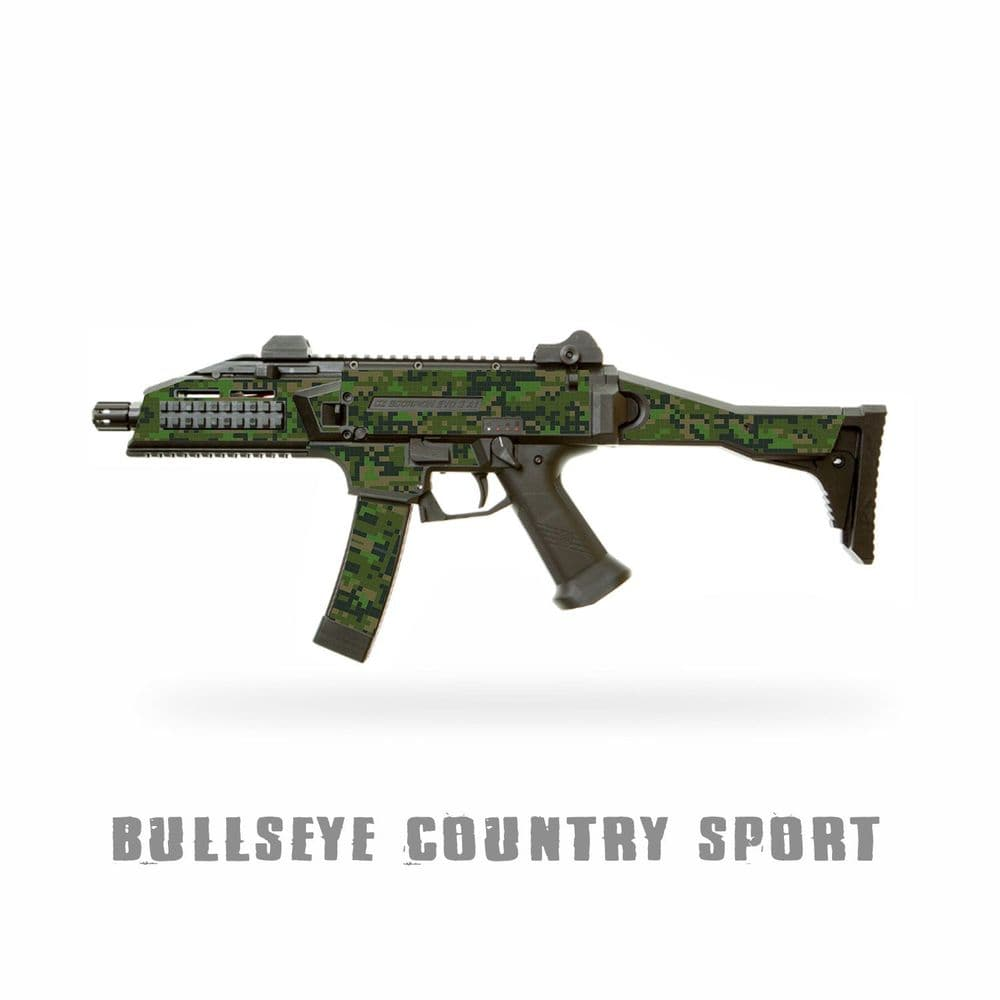Scorpion Skinz Airsoft EVO 3 A1 SMG Vinyl Camo Cover Kit Adhesive Armour