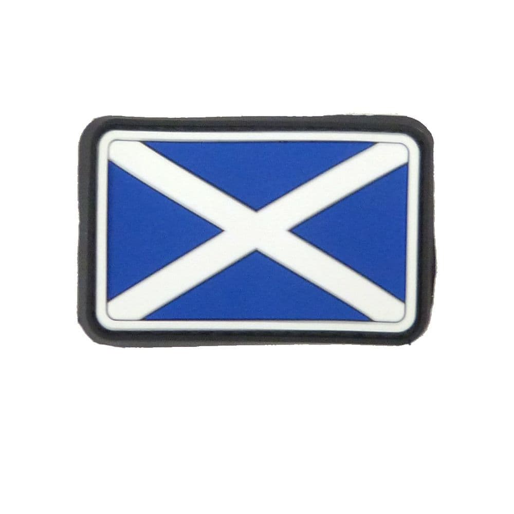Scotland Flag Patch PVC Moral